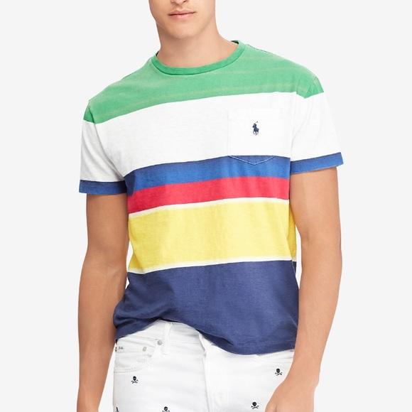 310b986a Polo by Ralph Lauren Shirts | Polo Ralph Lauren Mens Cp93 Striped ...